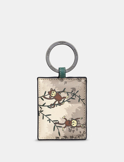 Monkeying Around Leather Keyring - Yoshi