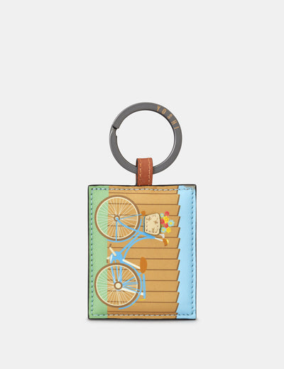 Bicycle Leather Keyring - Yoshi