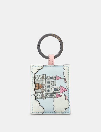 Princess Castle Leather Keyring - Yoshi