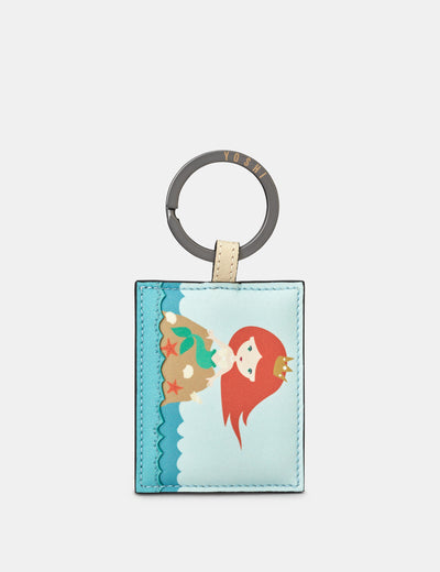 Mermaid Leather Keyring - Yoshi