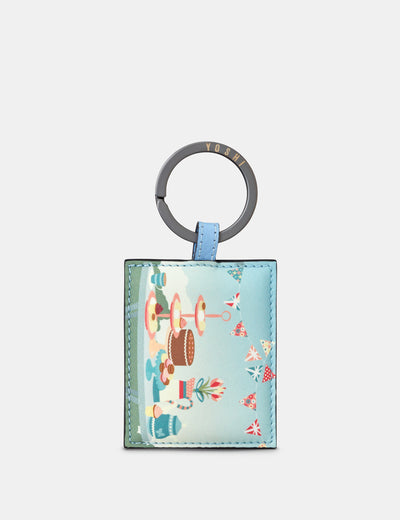 Afternoon Tea Party Leather Keyring - Yoshi
