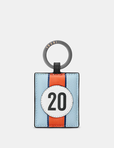 Car Livery #20 Leather Keyring - Yoshi
