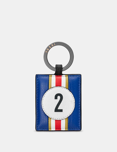 Car Livery #2 Leather Keyring - Yoshi
