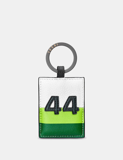 Car Livery #44 Leather Keyring - Yoshi