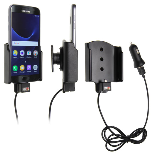 521863 Brodit Active holder with cig-plug for Samsung Galaxy S7