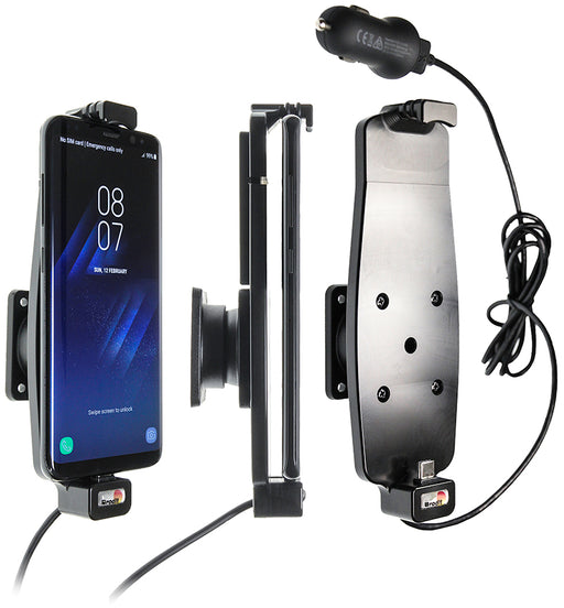 521964 Brodit Active holder with cig-plug for Samsung Galaxy S10