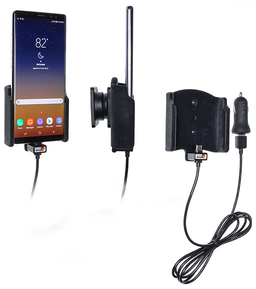 721005 Brodit Active holder with cig-plug for Samsung Galaxy Note 8