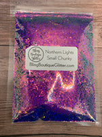 Color Shifting Small Chunky Glitter - Northern Lights Small Chunky