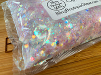 Light Purple Opal Chunky Mix Glitter - Opal Lilacs