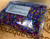 Blue | Gold | Dark Pink Holographic Chunky Glitter Mix - Infinite Beauty 2.0