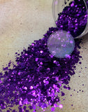 Chunky Mix Purple Glitter - Purple Haze Mix