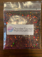 Brown Chunky Mix Holographic Glitter - Chocolate Fountain Mix