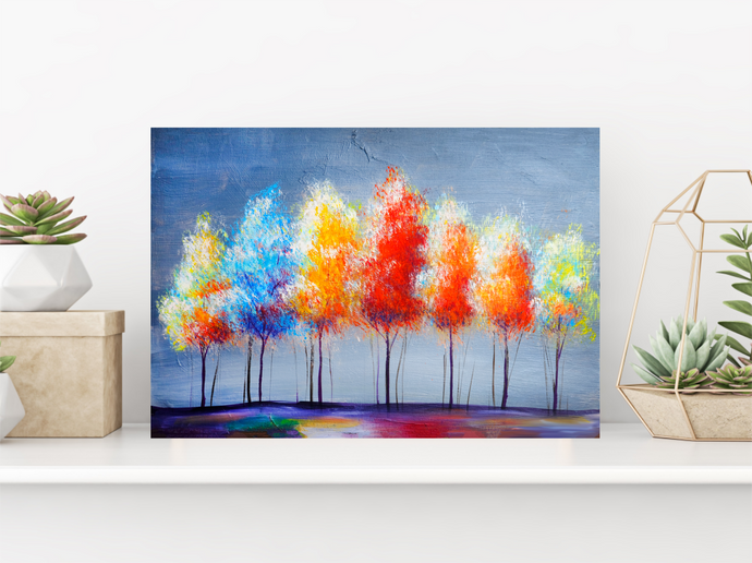 Tableau décoratif : Colorful Trees
