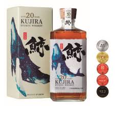 Bourbon Kujira 20 Years Japanese Single Grain Whisky Bourbon Cask Limited, 70 cl.