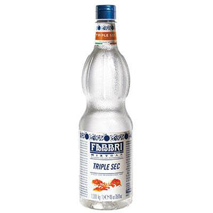 Sirope Triple Sec Fabbri, 1000 ml.