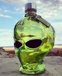 Outer Space Vodka, 70 cl.