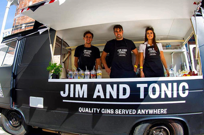 Gin Bar Hire for events London - PartyMakerApp