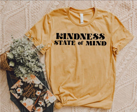 Kindness State of Mind Graphic T-Shirt - Bold & Bright Boutique