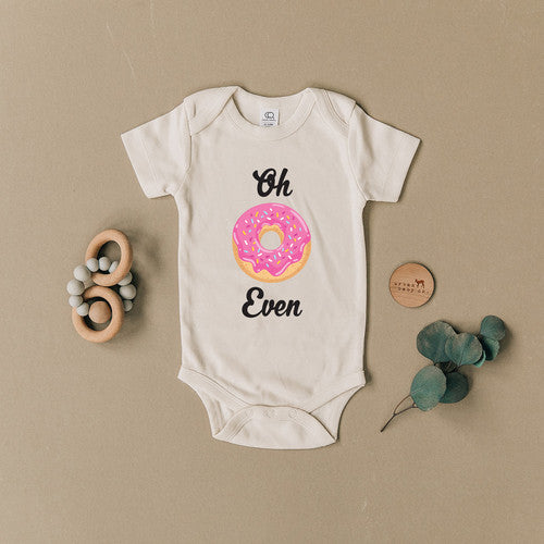 Oh Donut Even Organic Baby Onesie - Bold & Bright Boutique