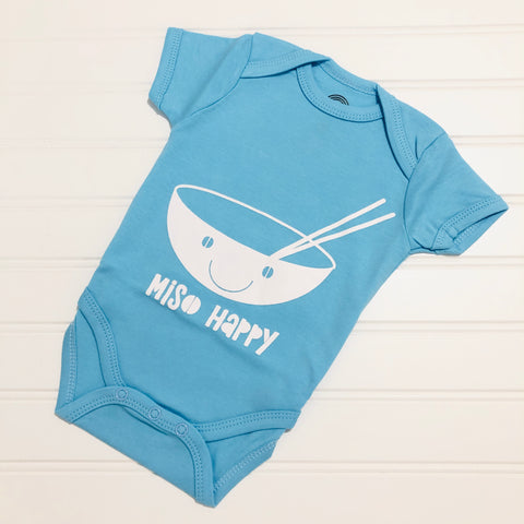 Miso Happy Baby Onesie - Bold & Bright Boutique