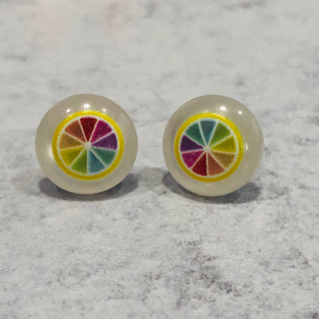 12mm Fruit Salad Stud with Stainless Steel Posts