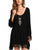 InsDresses Plus Size Bohemia Loose Tassel Irregular Chiffon Beach Shift Dresses