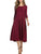 InsDresses Casual Solid Round Neck Long Dress
