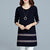 InsDresses Ethnic Style Loose Casual Shift Dress