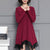 InsDresses Elegant Tassel Casual Loose Shift Dress