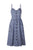 InsDresses Fashion Spaghetti Strap  Single Breasted  Dot Floral Printed  Sleeveless Maxi Dresses