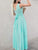 InsDresses Fashion V-Neck  Plain Maxi Dress