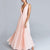 InsDresses Fashion Pink Sexy Fashion Sleeveless Maxi Dress