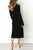 InsDresses Fashion Round Neck  Plain  Long Sleeve Maxi Dresses