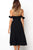InsDresses Fashion Strapless  Backless  Belt  Plain  Extra Short Sleeve Maxi Dresses