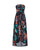 InsDresses Fashion Tube Top Split Bohemian Print Dress