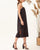 InsDresses Fashion Sexy Sling Square Collar Sleeveless Solid Color Maxi Dresses