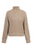 Winter Pullovers Solid Khaki Knitted Sweater