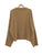 Winter Loose Twist Solid Color Pullovers Tops Sweaters