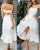InsDresses Fashion Openwork Lace Lace-Up Dress