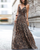 InsDresses Fashion Explosive Multi-Color Leopard-Strap Dress