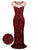 InsDresses 1920s Sequined Embellished Maxi Dress