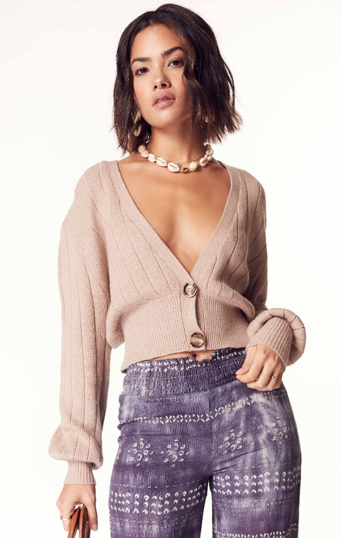I Adore You Cropped Cardigan