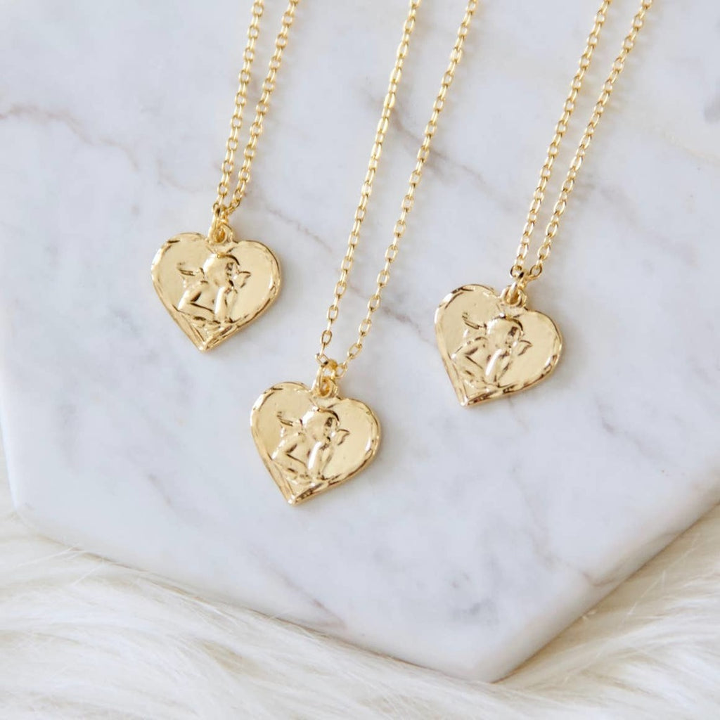 Cupid Heart Necklace