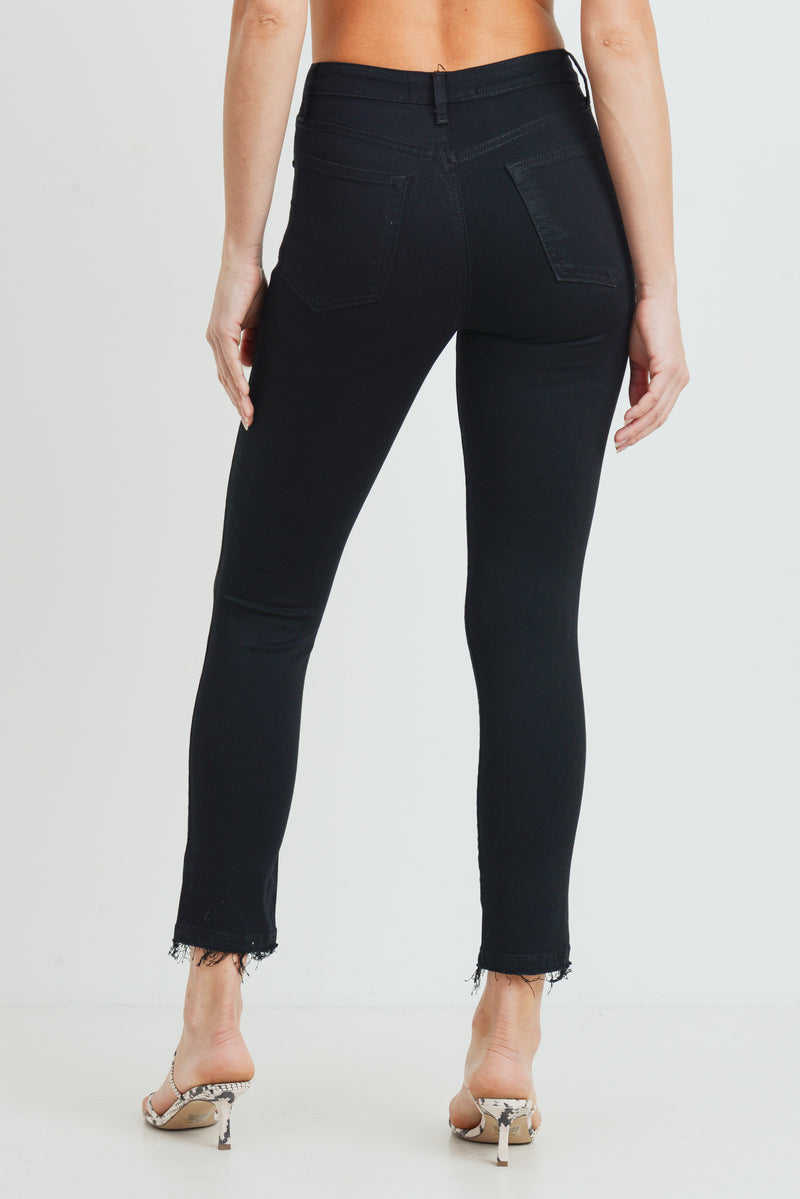 The Hendrix High Rise Destructed Skinny