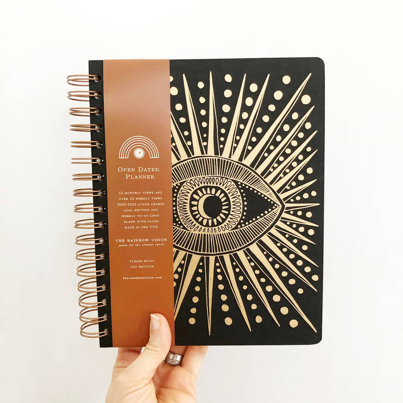 Seeing Eye Open Dated Planner