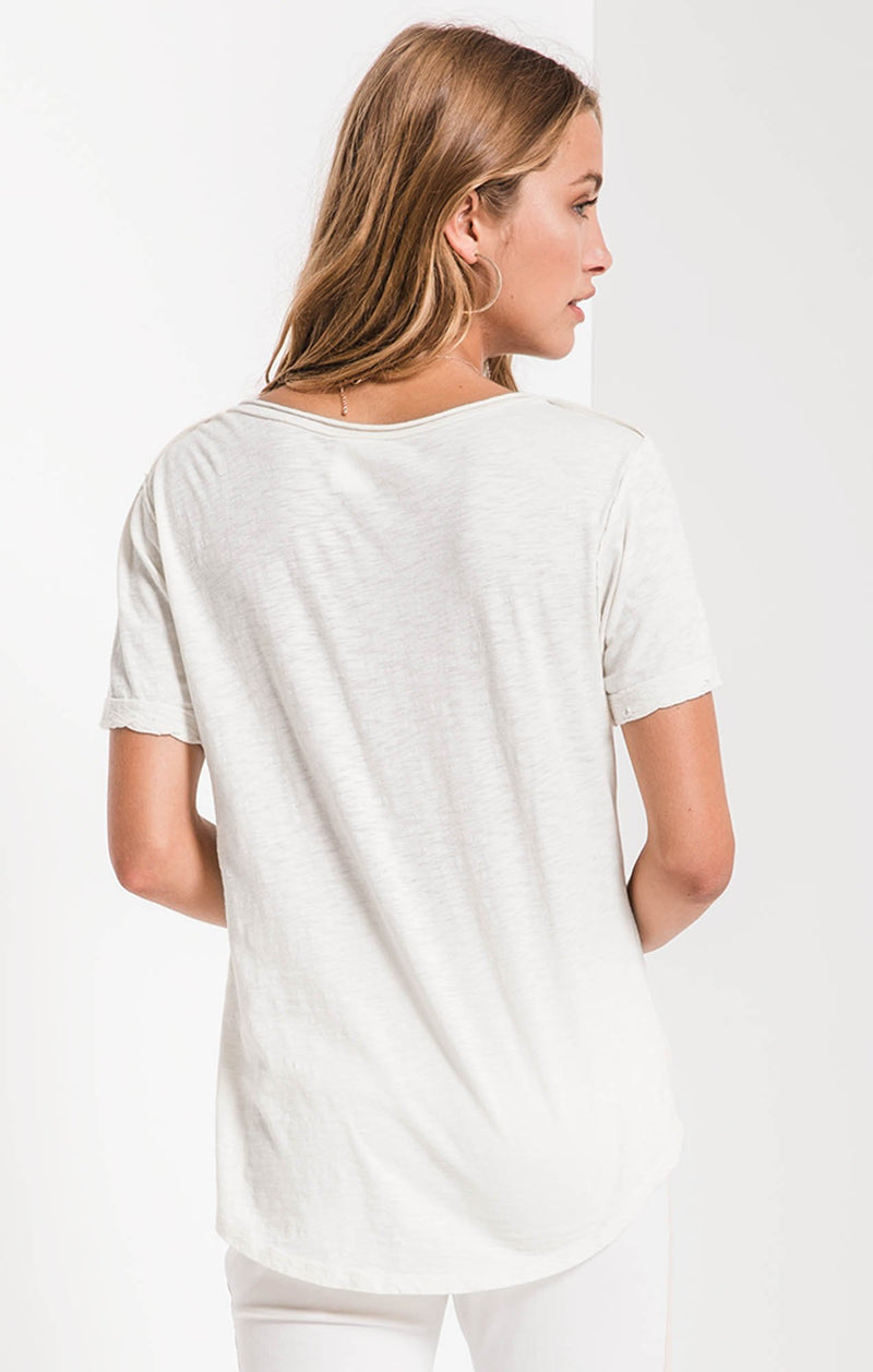 The Cotton Slub V-Neck