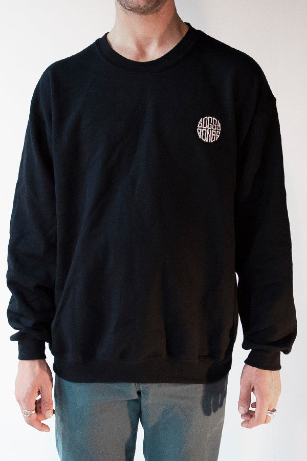 Soggybones OG Embroidered Crewneck (Black)