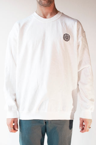 Soggybones OG Embroidered Crewneck (White/Navy) - Soggybones