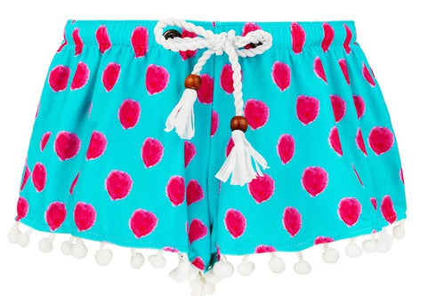 Snapper Rock Aqua Berry Swim Shorts