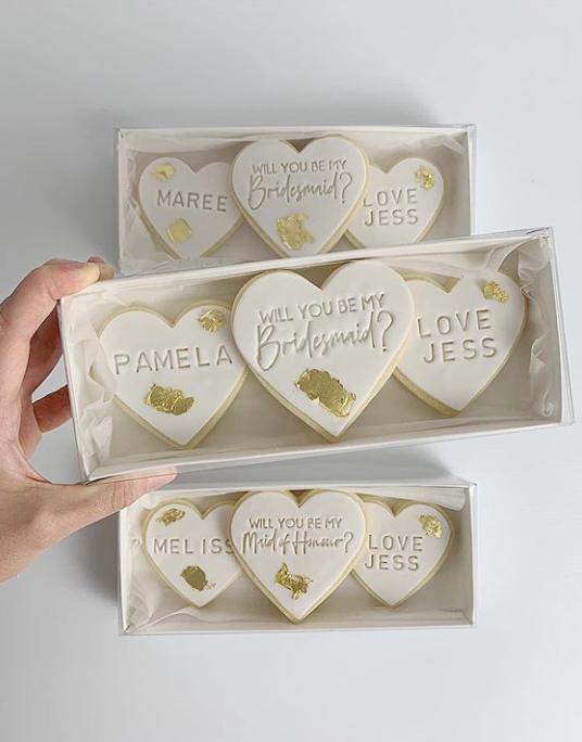 Bridesmaid Proposal Cookies